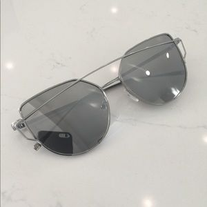 Free People Forget Me Not aviator sunglasses
